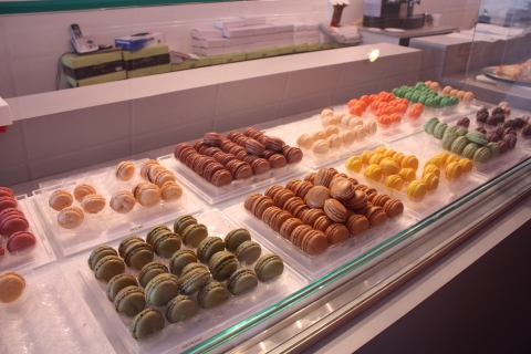 Beautiful Macaron Display